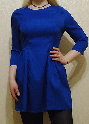 Шикарное платье с молнией на спинке