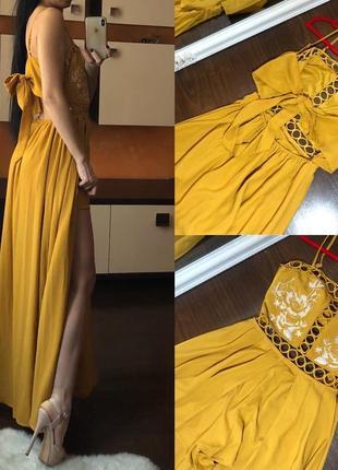 Ну очень роскошное платье сарафан s