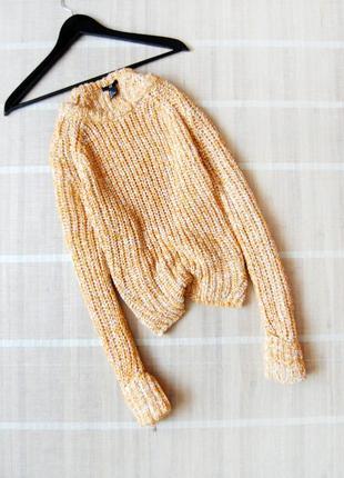 Шикарный свитер h&m крупной вязки