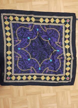 Роскошный платок bally шелк