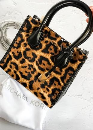 Леопардовая сумочка michael kors