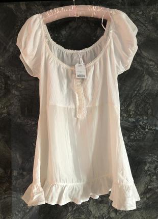 Очень красивая блуза футболка plus size батал размер 18