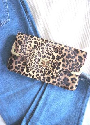 Леопардовый клатч сумочка peacocks #розвантажуюсь