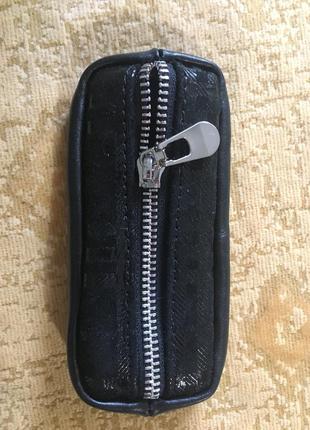 Стильная кожаная ключница чехол для ключей