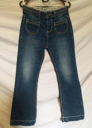 Стрейчевые джинсы для девочки.