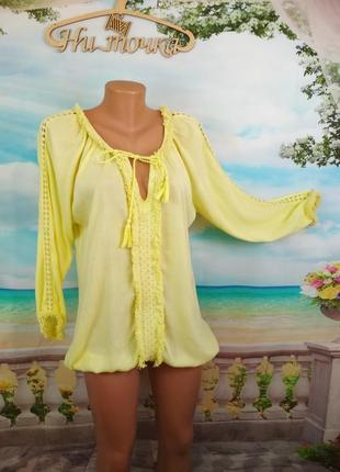 Свободная блуза 46-48р