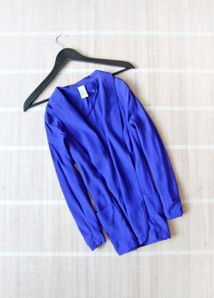 Блейзер пиджак vila шикарного синего цвета