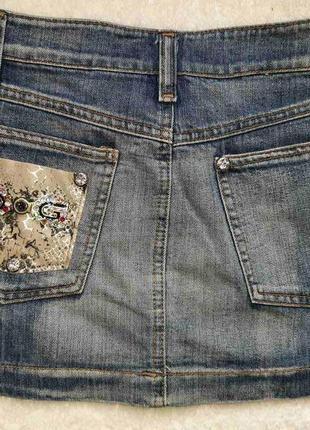 Джинсовая юбка d&g2 фото