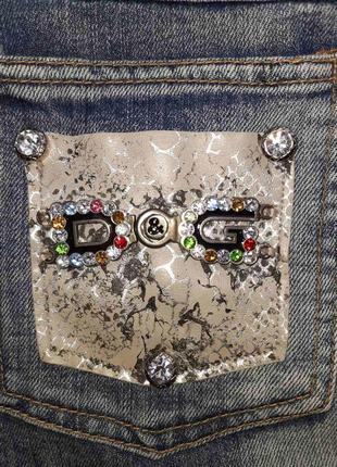 Джинсовая юбка d&g4 фото