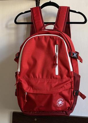 Продам оригинал рюкзак converse красный