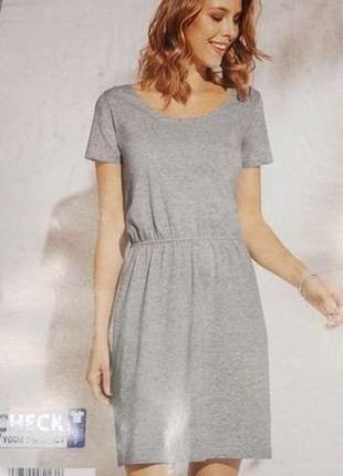Отличное базовое платье, био хлопок, blue motion. размер s, евро 36-38