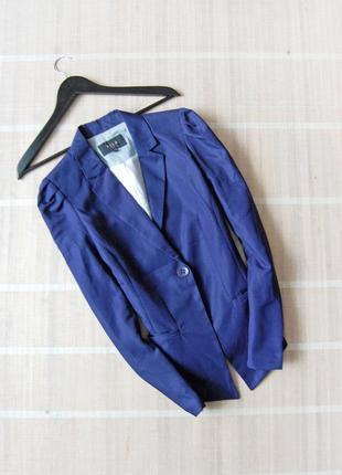 Пиджак блейзер vila синего цвета