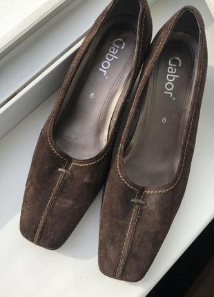 Туфли натуральная замша замш