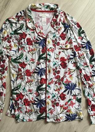 Натуральная пижама батал marks & spenser
