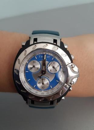 Швейцарские часы tissot t-race quarts chronograph