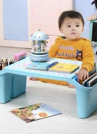 Маленький столик - органайзер пластиковый
