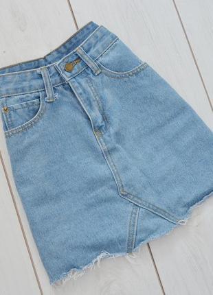 Юпка джинсовая женская