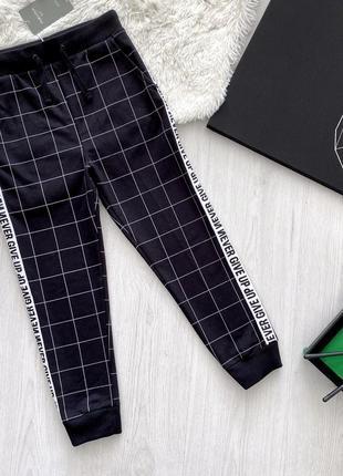 Трикотажные штаны-джоггеры для мальчика piazza italia италия