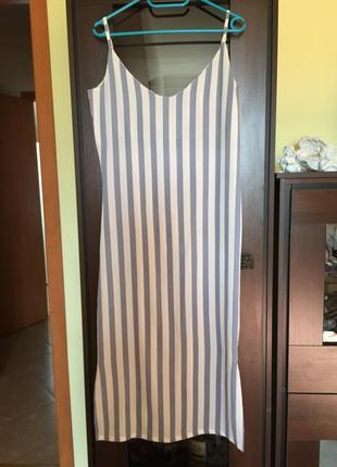 Длинное платье zara1 фото