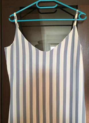 Длинное платье zara2 фото