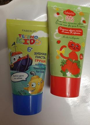 Зубная паста для детей.груша от faberlic
