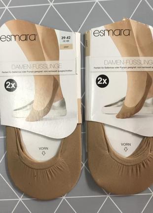 Следы следки носки посдледники esmara