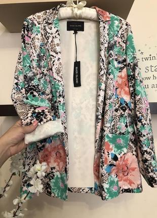 Очень красивый пиджак весна лето, женский пиджак без застежек, кардиган,