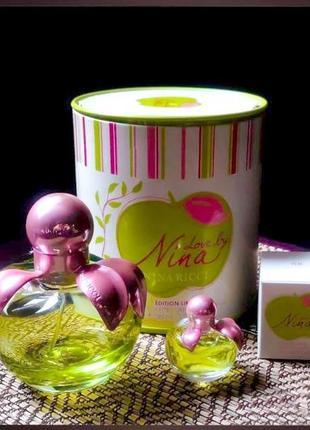 Nina ricci love by nina_original eau de toilette 5 мл затест_туал.вода