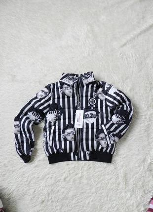 ✅классные моднявые молодёжные куртки полоску капюшон натуральным мехом отстёгивается