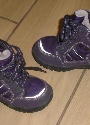 Ботинки демисезонные superfit 22 р