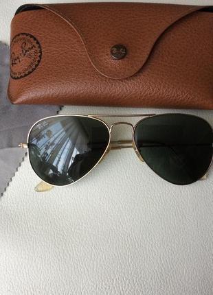 Солнцезащитные очки ray ban aviator оригинал