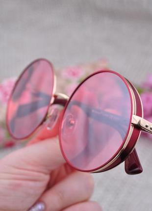 Фирменные солнцезащитные круглые очки eternal polarized окуляри