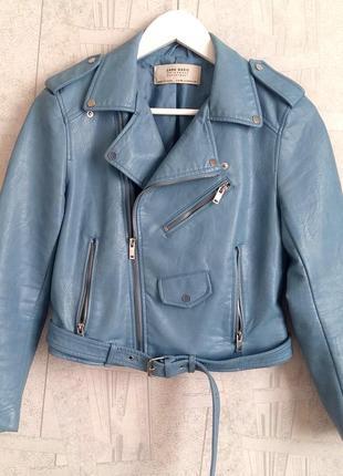 Стильная куртка-косуха zara