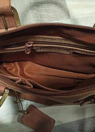Стильная и очень качественная сумка из натуральной кожи brasils6 фото