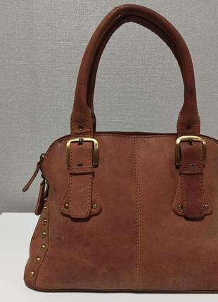 Стильная и очень качественная сумка из натуральной кожи brasils7 фото