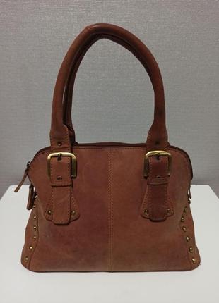 Стильная и очень качественная сумка из натуральной кожи brasils8 фото