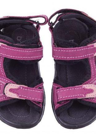 Нубуковые босоножки braska для девочки , 29 размер, сандалии