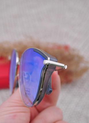 Красивые  солнцезащитные очки с боковой шорой gian marco venturi