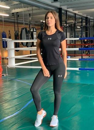 Комплект спортивный комперссионый женский