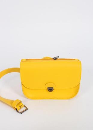 Клатч сумка на пояс 2в1 екошкіра різні кольори
