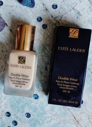Estée lauder  устойчивый тональный крем spf10 double wear, оттенок 1w0 warm porcelain