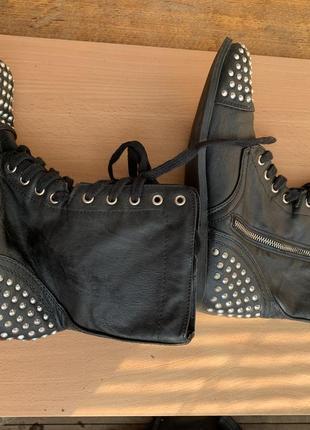 Ботинки sm new york1 фото