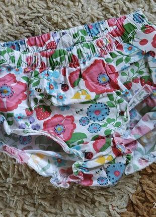 Фирменные трусы - шорты под памперс 1-2 года (можно раньше и дольше)