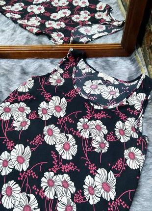 #розвантажуюсь  топ блуза кофточка с цветочным принтом papaya2 фото