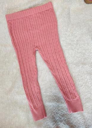 Лосины, штаны, штанишки вязаные, гамаши на 2-3 года
