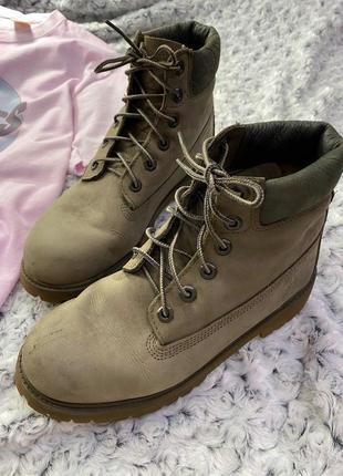 Кожаные ботинки timberland2 фото