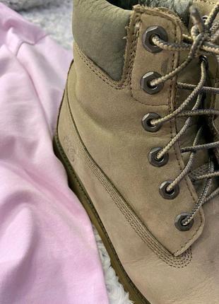 Кожаные ботинки timberland5 фото