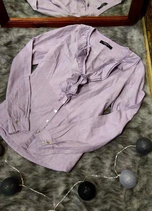 #розвантажуюсь блуза кофточка с рюшей на лифе reserved