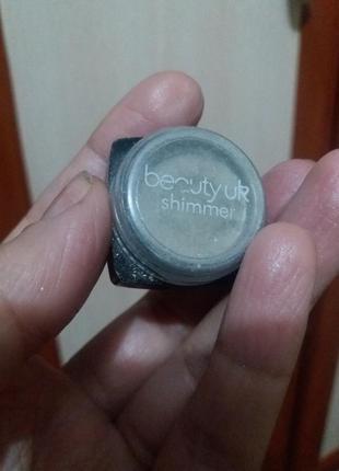 Beauty uk shimmer тени мерцающие качество суперское , стойкие