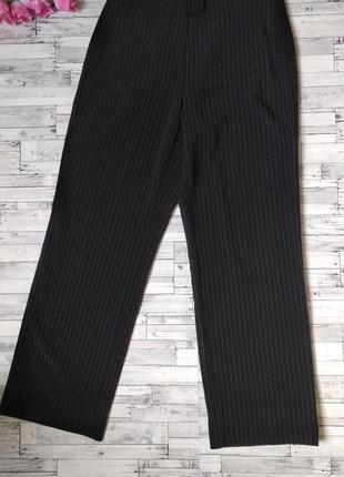 Классические черные брюки gerry weber женские в полоску